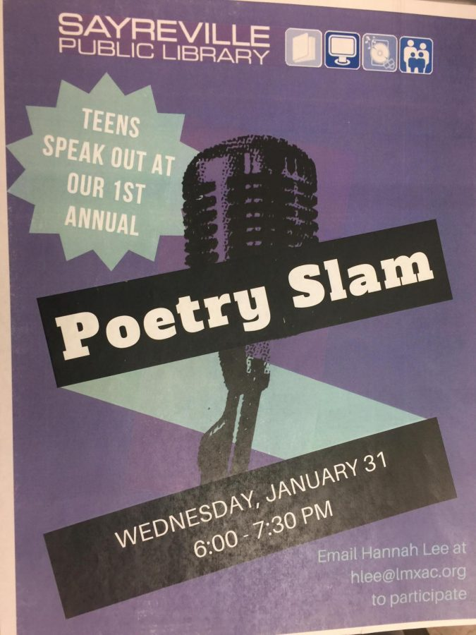 1st Annual Poetry Slam