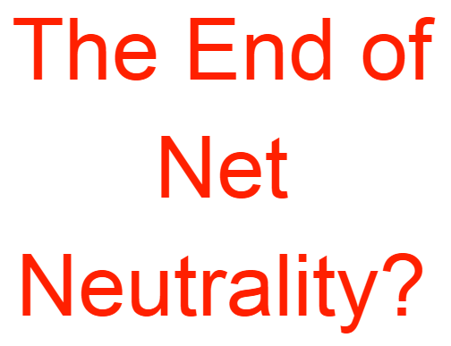 Net neutrality - Watch the world burn
