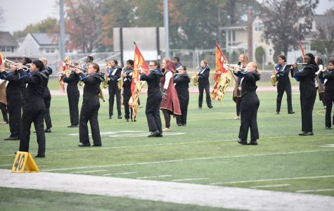 SWMHS marching band competes at TOB championships