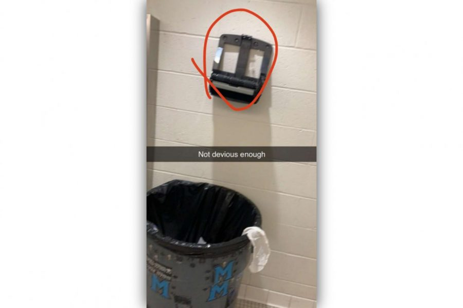 Students Destroy School Bathrooms for Their 15 Seconds of Fame